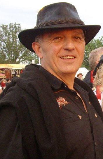 Jean-Claude Animateur du cours des débutants des 100 Tiags de St Martin d'Abbat (45)