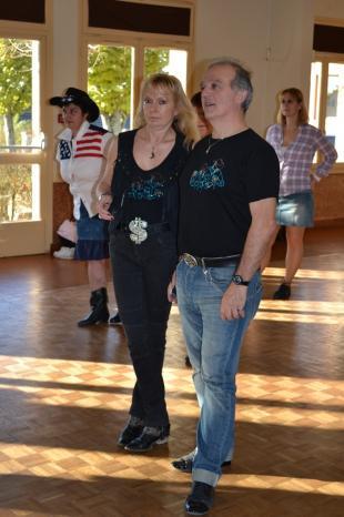 Jean-claude et Sylvie des 100tiages écoutent avec attention!!
